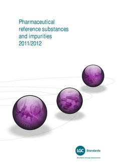 Pharmaceutical Reference Materials & Impurities
