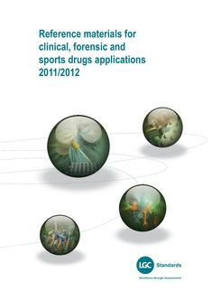 Clinical, forensic and sports drugs applications