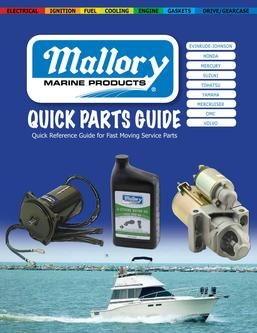 Mallory Marine Quick Parts Guide