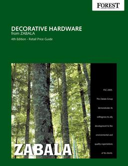 Forest Group Decorative Hardware from Zabala