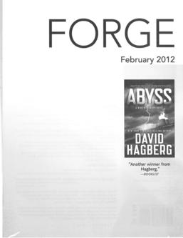 February 2012 Tor / Forge Mass Markets