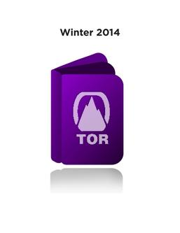 Winter 2014  Tor Catalogue
