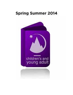 Fall 2014  Tor Children's and Young Adult