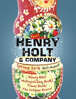 Henry Holt and Company Spring 2014 Catalogue