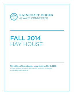 Hay House Fall 2014