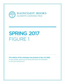 Figure 1 Spring 2017 Books
