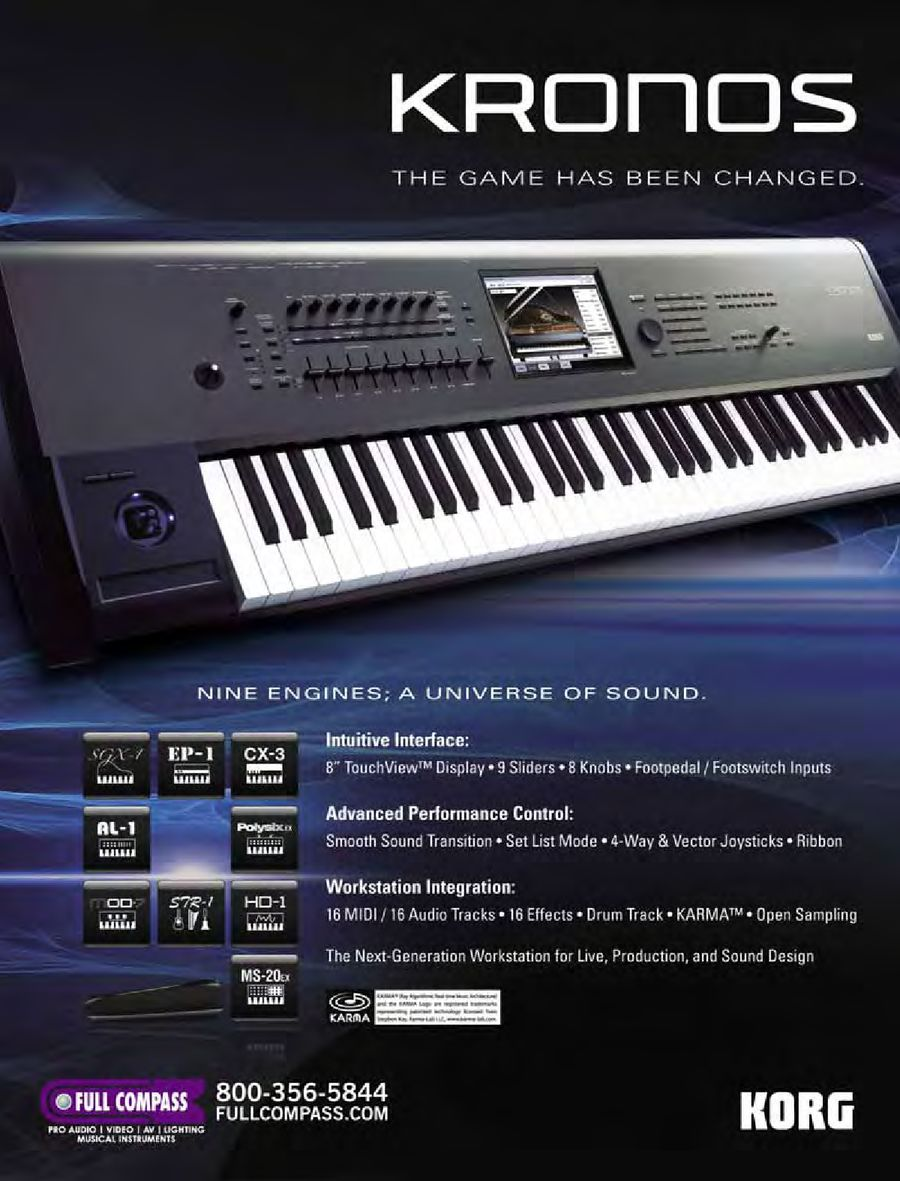 Keyboard Workstations & Synthesizers Fall/Winter 2011 by Full