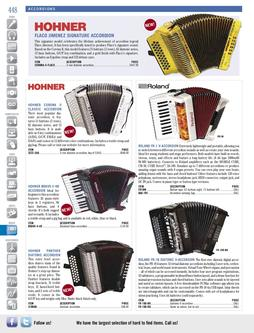 Musical Instruments - Accordions Fall/Winter 2011