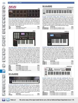 Musical Instruments - MIDI Controllers Fall/Winter 2011