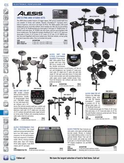 Musical Instruments - Electronic Percussion Fall/Winter 2011