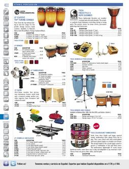 Musical Instruments - Ethnic Percussion Fall/Winter 2011