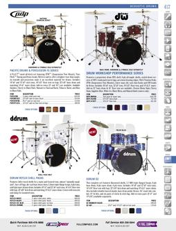 Musical Instruments - Acoustic Drums Fall/Winter 2011