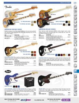 Musical Instruments - Bass Guitars Fall/Winter 2011