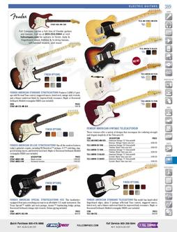 Musical Instruments - Electric Guitars Fall/Winter 2011