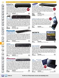 Video - DVD Players & Recorders Fall/Winter 2011