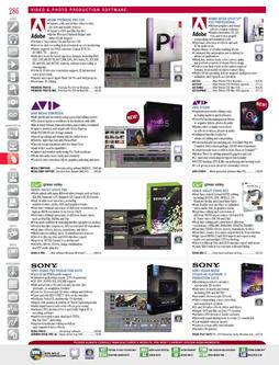 Video & Photo Production Software Fall/Winter 2011