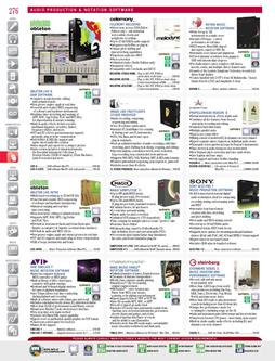 Audio Production & Notation Software Fall/Winter 2011