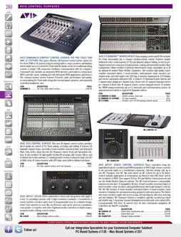 DAW/Hardware - Avid Control Surfaces Fall/Winter 2011