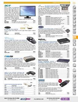 Computer AV - Computer Accessories Fall/Winter 2011