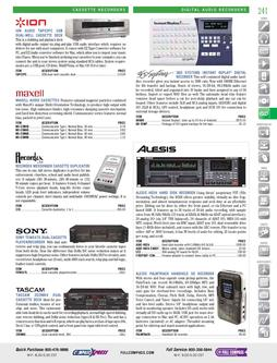 Recorders - Digital Audio Recorders Fall/Winter 2011