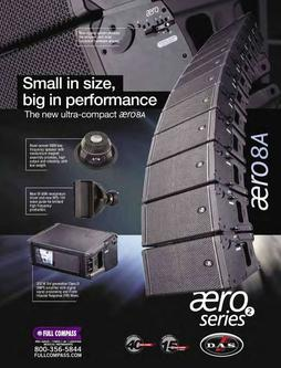 Line Array Speakers Fall/Winter 2011