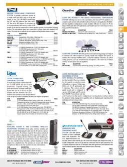 Audio Conferencing Systems Fall/Winter 2011