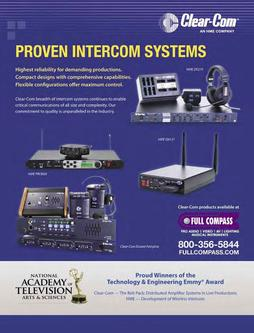 Intercoms - Wireless & Two-Way Radios Fall/Winter 2011
