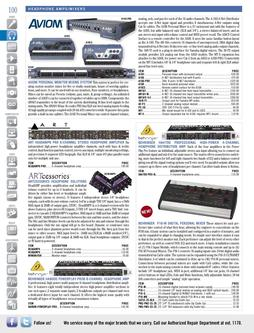 Headphone Amps/Mixers Fall/Winter 2011