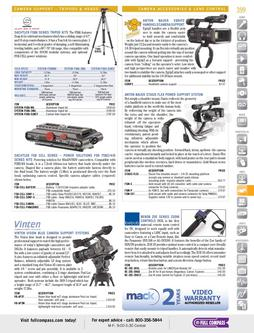 Video - Camera Accessories & Lens Control Spring/Summer 2012