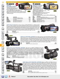 Video Camcorders Spring/Summer 2012