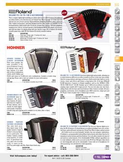 Musical Instruments - Accordions Spring/Summer 2012