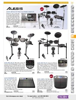 Electronic Percussion Spring/Summer 2012