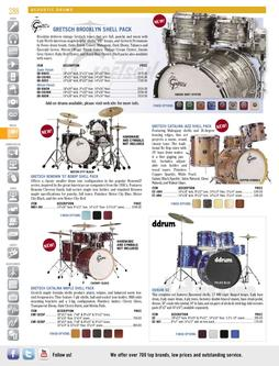 Acoustic Drums Spring/Summer 2012