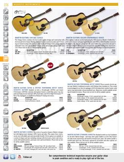 Acoustic Instruments Spring/Summer 2012