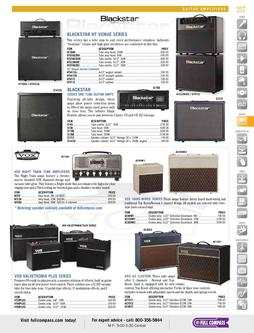 Guitar Amplifiers Spring/Summer 2012