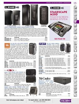 Sound Reinforcement Speakers 2 Spring/Summer 2012