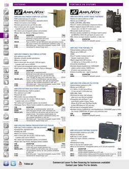 Portable PA Systems Spring/Summer 2012