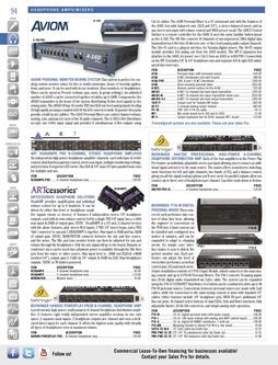 Headphone Amps / Mixers Spring/Summer 2012