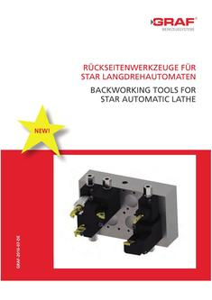 Backworking Tools for Star Automatic Lathe 2017