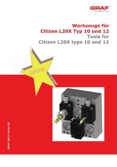 Tools for Citizen L20X type 10 and 12 2017