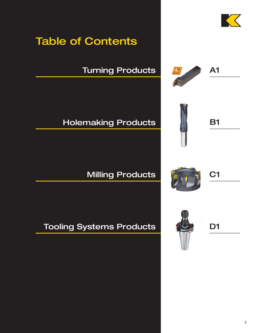 Univiversal Tooling Catalog 5090 by Kennametal