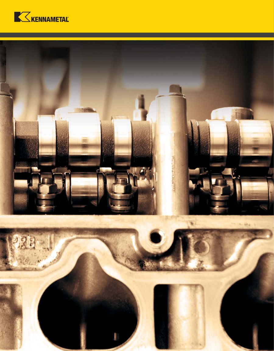 A-09-02013 Innovations 2010 Tooling Catalog by Kennametal