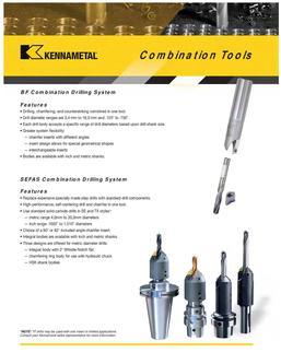 Combination Tools  by Kennametal