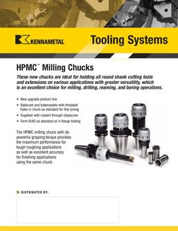 A08-01459_HPMC Milling Chucks by Kennametal