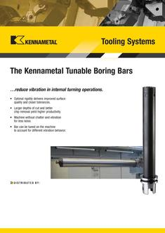 A-09-02148 Tunable Boring Bars by Kennametal