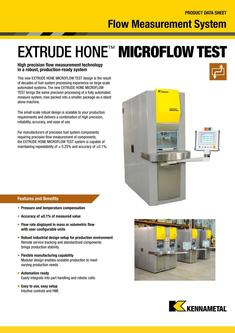 MICROFLOW TEST Product Data Sheet 2015
