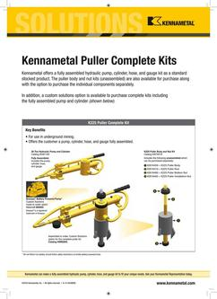KMT Hydraulic Puller Kits 2015