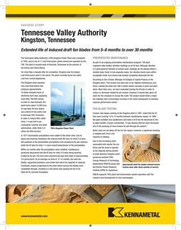 KMT Tennessee Valley success story 2015