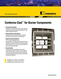 KMT Burner Components Application bulletin 2015