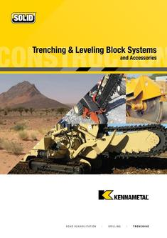 Trenching and Leveling Blocks 2015
